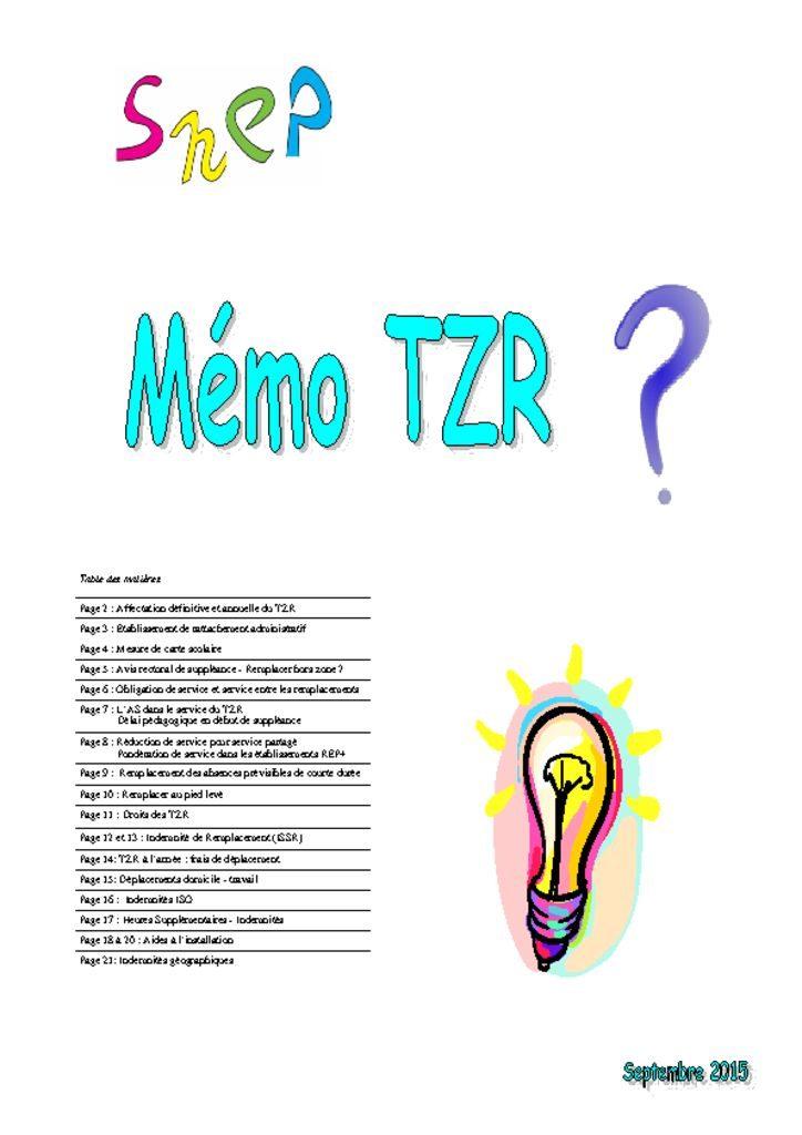 thumbnail of Memo TZR 2015