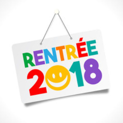 Edito Rentrée 2018