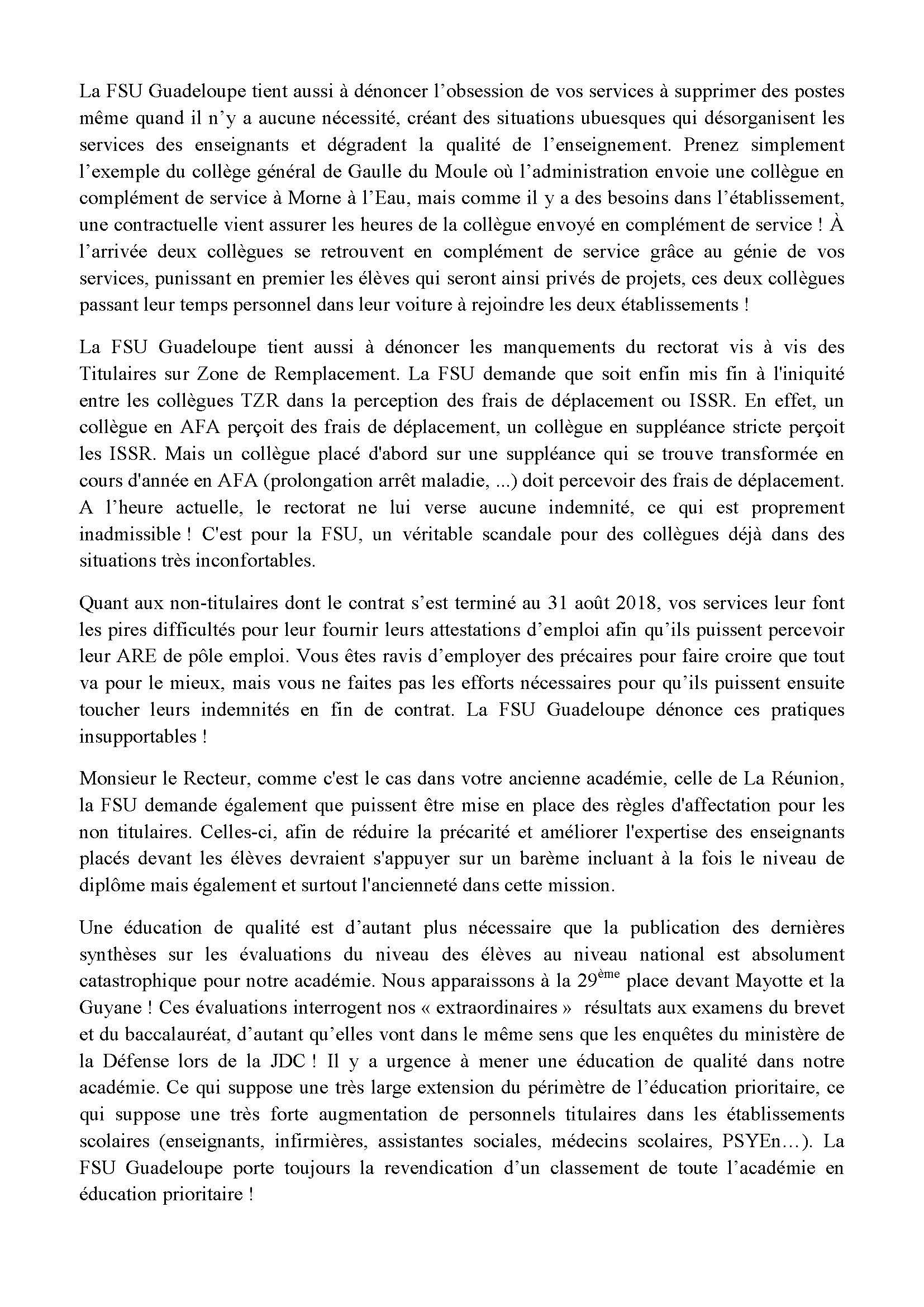 thumbnail of Déclaration de la FSU_CTA_20 septembre 2018