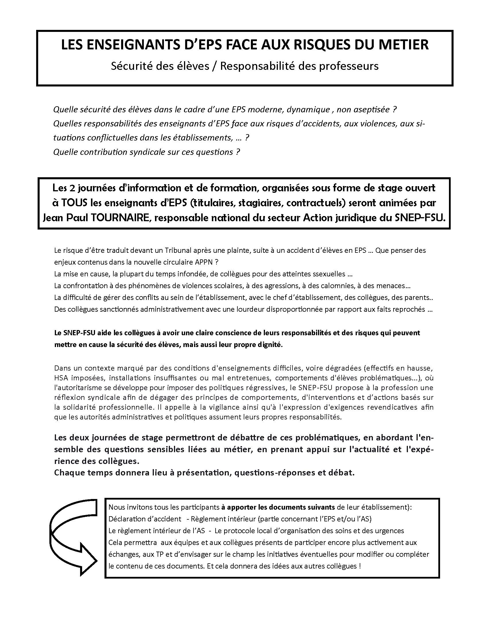 thumbnail of stages syndicaux securité responsabilité jpt 2018 2019